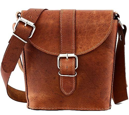 PAUL MARIUS small leather bucket bag L AUTHENTIQUE (S)  Amazon.co.uk  Shoes    Bags ab6463a307dc9