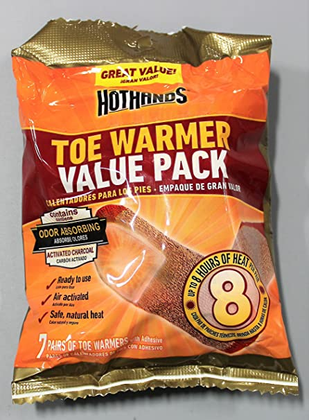 3 21 pairs Hot Hands Value Pack-7 Pair Toe Warmers