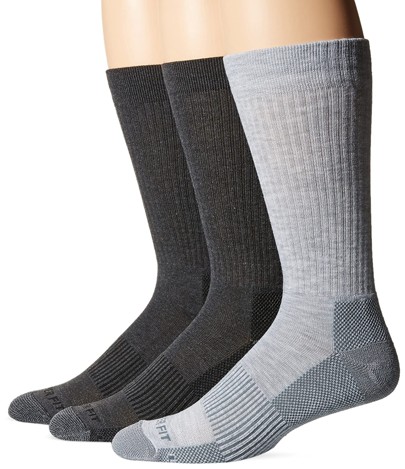 fd445f132 Copper Fit Men s Performance Sport Cushion Crew Socks (3 pair) Shoe Size  6-12 at Amazon Men s Clothing store
