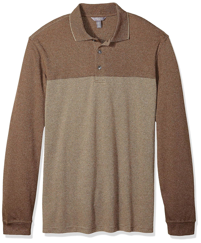b9d5d45aa Amazon.com  Van Heusen Men s Big and Tall Long Sleeve Jaspe Polo  Clothing