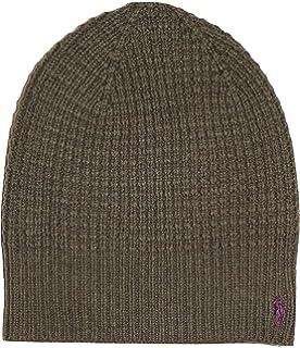 f5522739f Men's Polo Ralph Lauren Hat Skull Cap Lambs Wool Blend Grey w ...