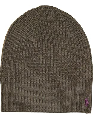 f6b45cc34b0 Image Unavailable. Image not available for. Color  Ralph Lauren Polo Men s  Waffle Knit Beanie Skull Cap