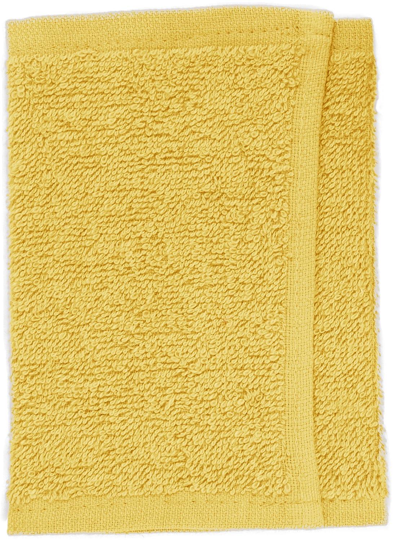Toalla facial color amarillo Fripac-Medis 30 x 15 cm