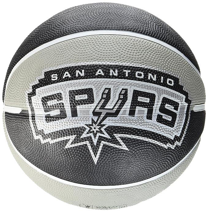 Spalding NBA San Antonio Spurs Team Balã³n de Baloncesto: Amazon ...