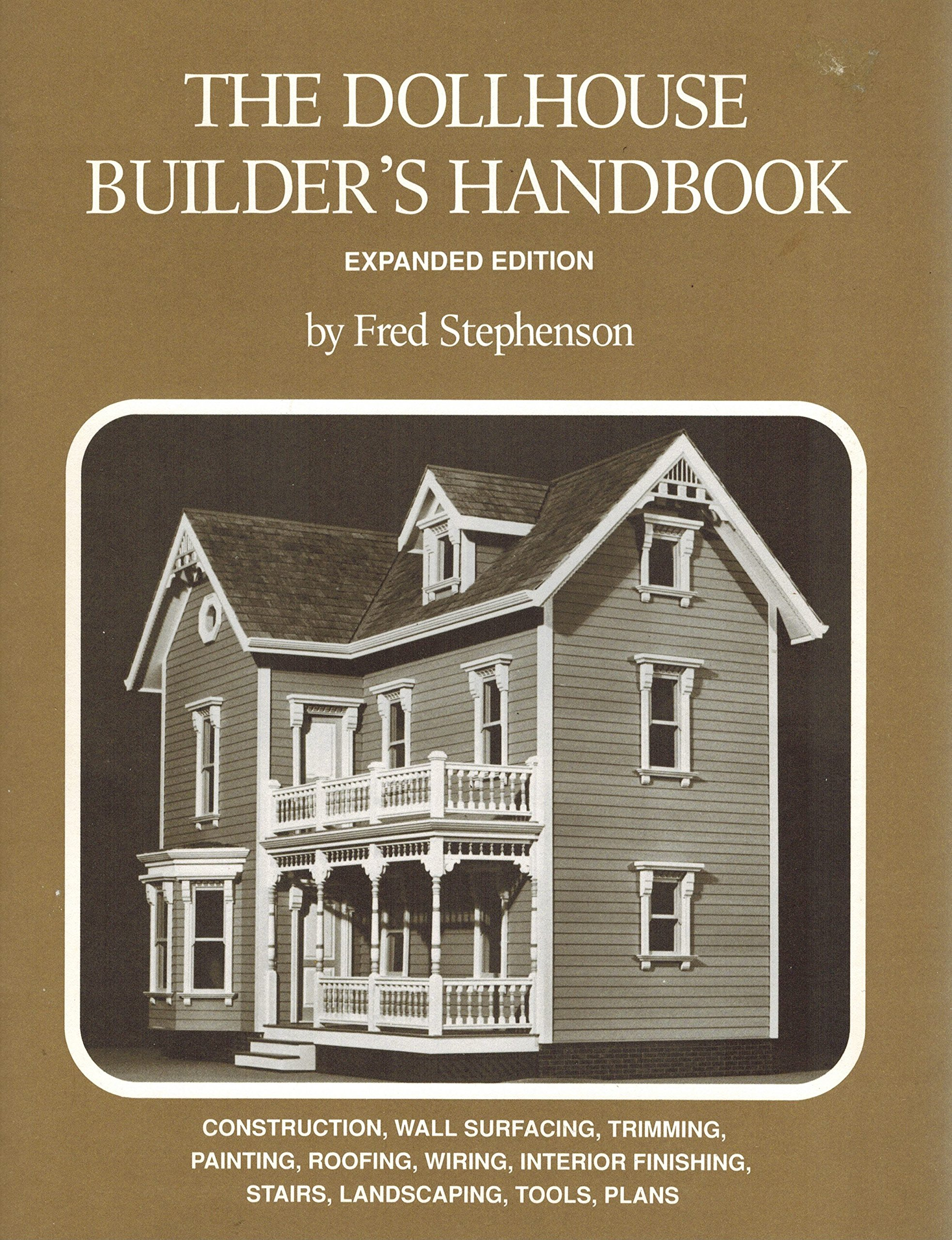 The Dollhouse Builders Handbook Fred Stephenson Books Doll House Wiring