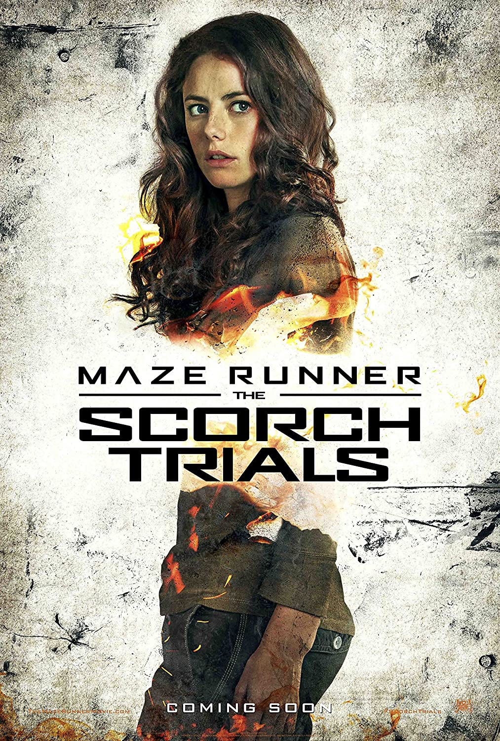 """Maze Runner : Scorch Trials - Movie Poster (12 x 18"""" Inches) , Glossy Finish (Thick): TERESA"""