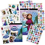 Disney Frozen Stickers and Tattoos Party Favor Pack (400 Stickers, 50 Temporary Tattoos, Door Hanger)