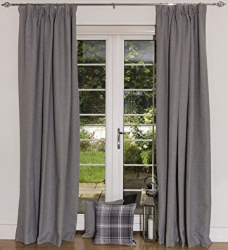 Blackout Curtains blackout curtains 90×90 : McAlister Textiles Pencil Pleat Header Tape 90 x 90 inch Blackout ...