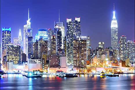 manhattan backdrops new york city backdrop nyc urban city light background night scene skyscraper background video