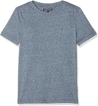 Tommy Hilfiger Ame Triblend Cn Knit S/S Camiseta para Niños