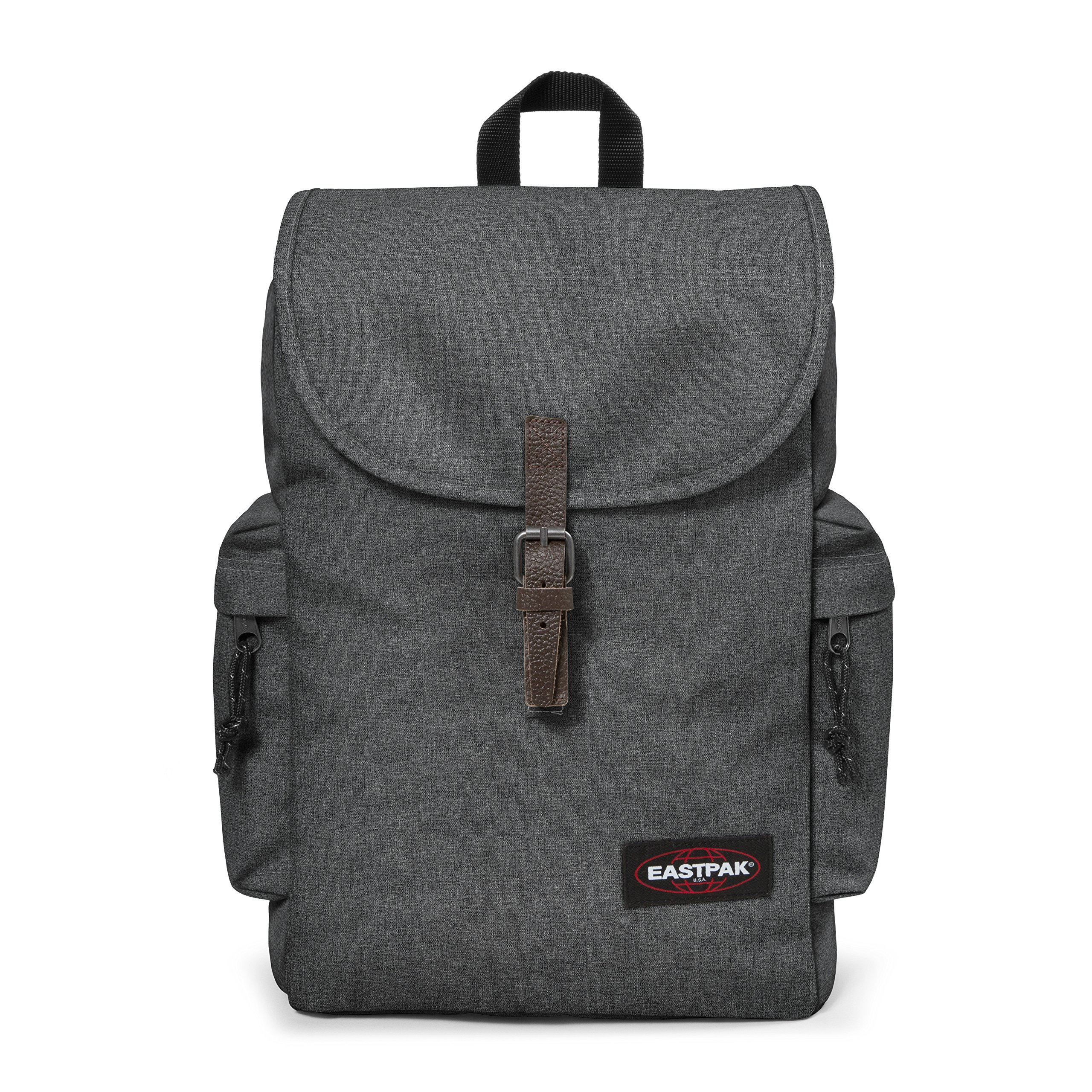 ca2653ccd9 Eastpak Austin, Zaino Casual Unisex, Grigio (Black Denim), 18 liters,