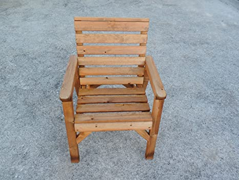 Sedie Schienale Alto Legno : Fenton garden furniture schienale alto sedia da giardino in legno