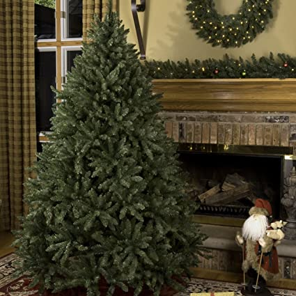 Douglas Fir Unlit Artificial Christmas Tree, Full (7.5') - Amazon.com: Douglas Fir Unlit Artificial Christmas Tree, Full (7.5
