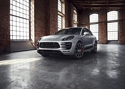 "Porsche Macan Turbo ""Exclusive Performance Edition"" (2017) Car Print on 10"