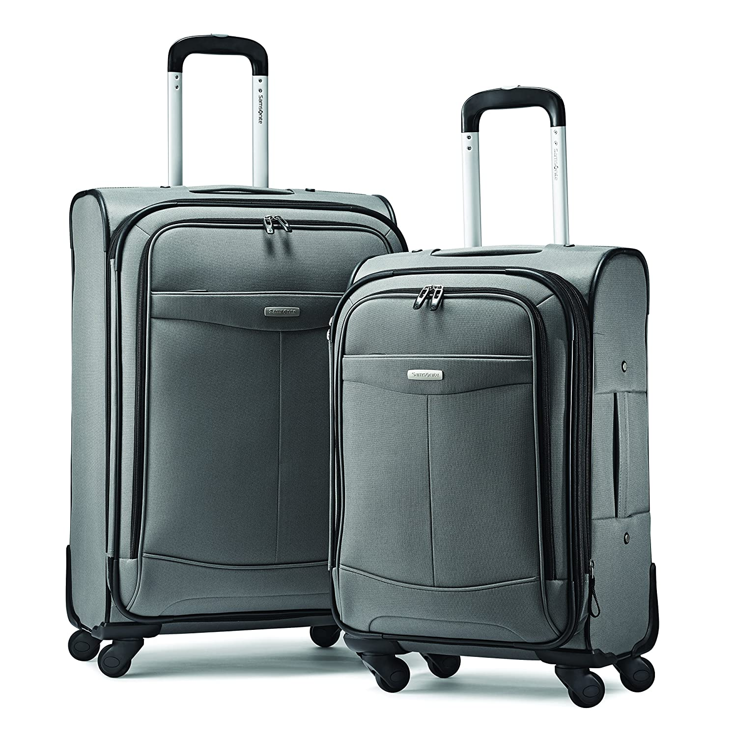 Amazon.com: Samsonite Proceed Two-Piece Softside Spinner Set ...