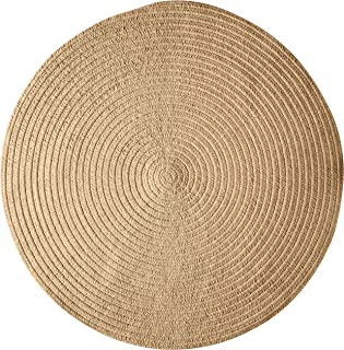 product image for Spring Meadow Round Rug, 6-Feet, Sand Bar