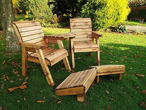 Tumbona - madera - Sillas De Jardín al aire libre Patio ...