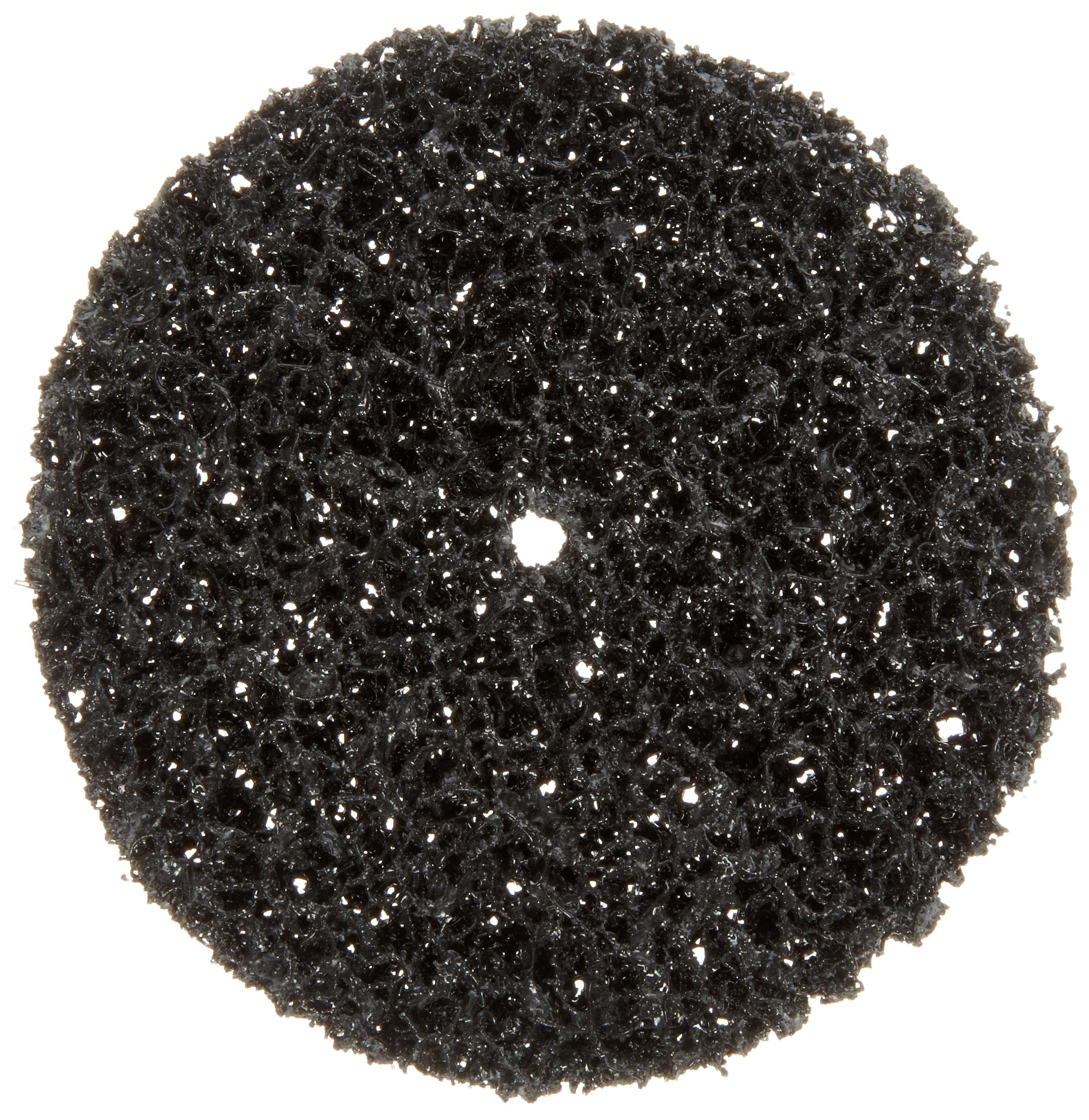 Scotch-Brite(TM) Clean and Strip Disc, Silicon Carbide, 4 Diameter, 1/4 Center Hole Diameter, Extra Coarse Grit  (Pack of 25)