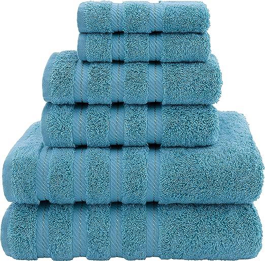 Premium Luxury Hotel  Spa Quality 6 Piece Kitchen and Bathroom Turkish Towel