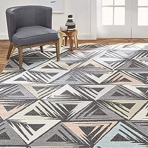 Home Dynamix Area Rug, 8x10, Charcoal