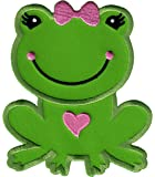 PatchMommy Ecusson Brode Patch Thermocollant, Grenouille Fille - Enfants Bebe