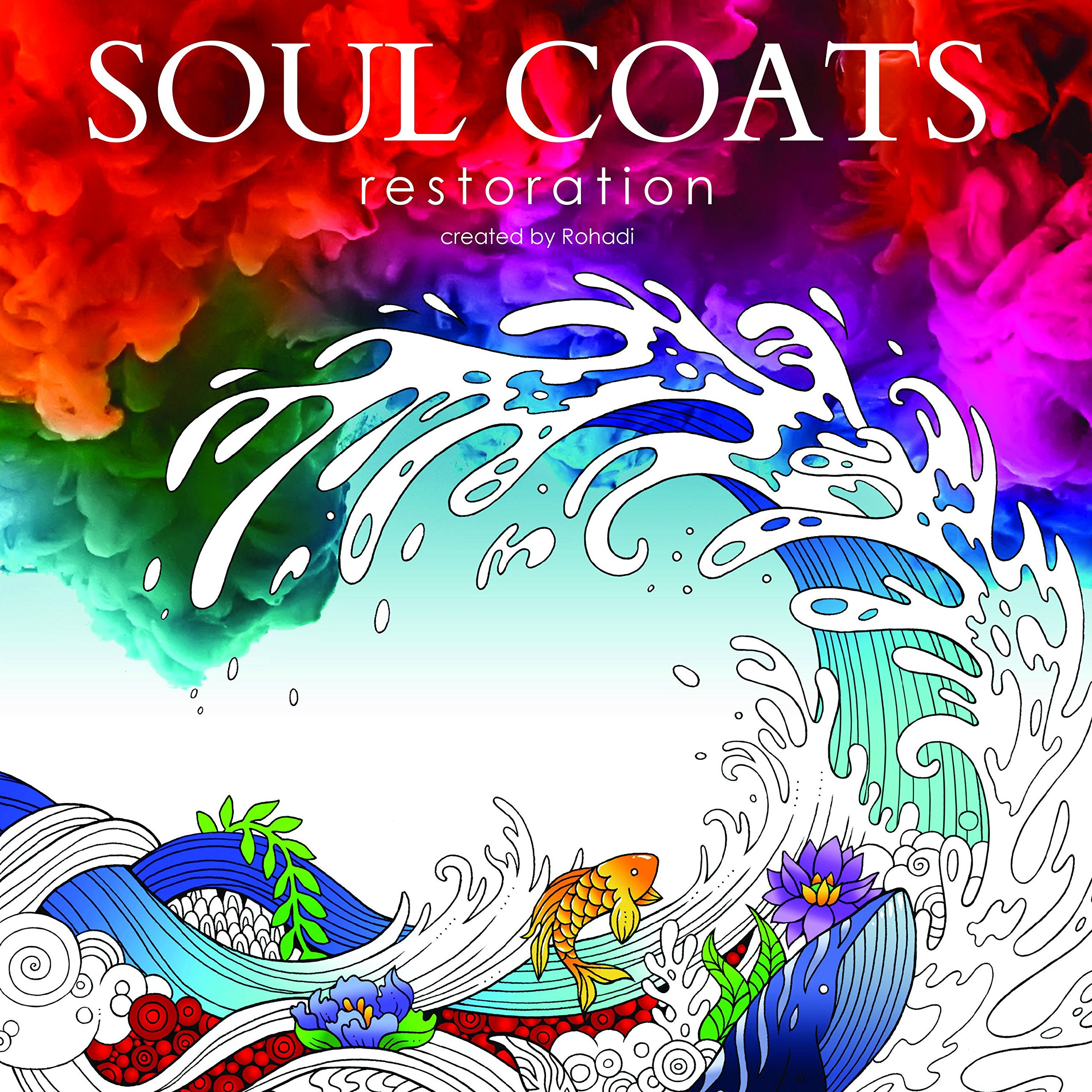 Amazon Soul Coats Adult Christian Coloring Book With Scenes From The Bible And Illustrated Verses 9780995037601 Rohadi Books