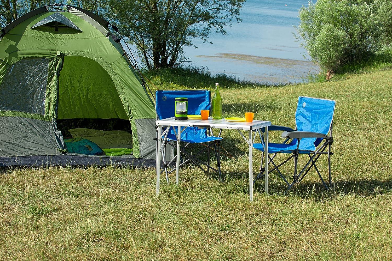 faltbar und leicht zu transportieren Coleman kompakter Campingtisch
