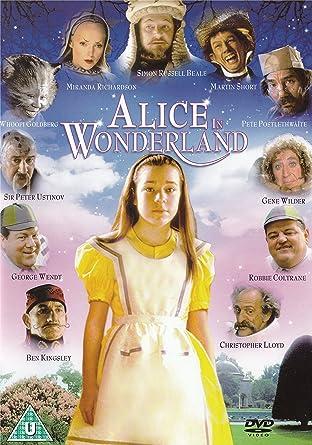 Alice In Wonderland 1999 Dvd Amazoncouk Tina Majorino