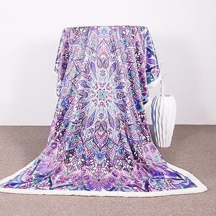 Amazon Sleepwish Velvet Plush Reversible Sherpa Blanket Pink Enchanting Fleece Blanket Pattern
