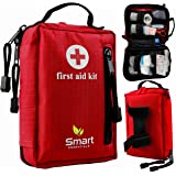 First Aid Kit for Home, Hiking, Backpacking, Camping, Sports, Travel, Car, Office, Workplace, Cycling, Medical, Hunting, Emergency and Survival Situations (60 pieces)