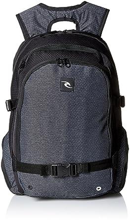 Rip Curl Men's Posse Ripstop Htr Backpack, Black