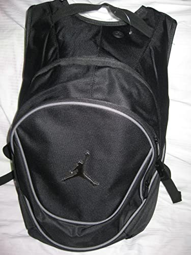 Nike Air Jordan Jumpman Black Book-Bag BackPack 9A1118-804 Size O S