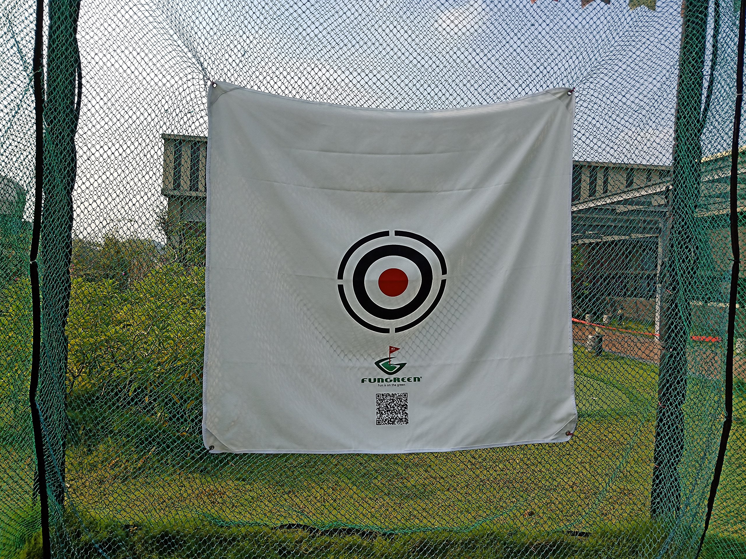 FUNGREEN 1.5Mx1.5M Golf Hitting Target Cloth for Golf Practice Indoor Training Outdoor Court Hitting Cloth Golf Accessories by FUNGREEN (Image #3)