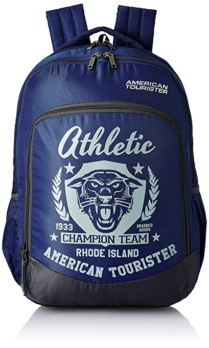 American Tourister 27 Ltrs Blue Casual Backpack (AMT VOLT BACKPACK 02 - BLUE)   Amazon.in  Bags, Wallets   Luggage a2bff38169