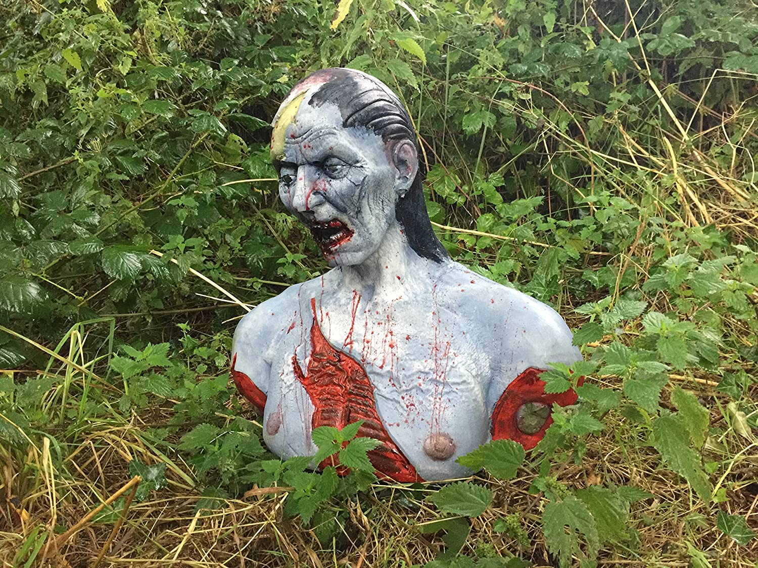 3D Zombie Archery Target Splattered in Blood Superb to Shoot!