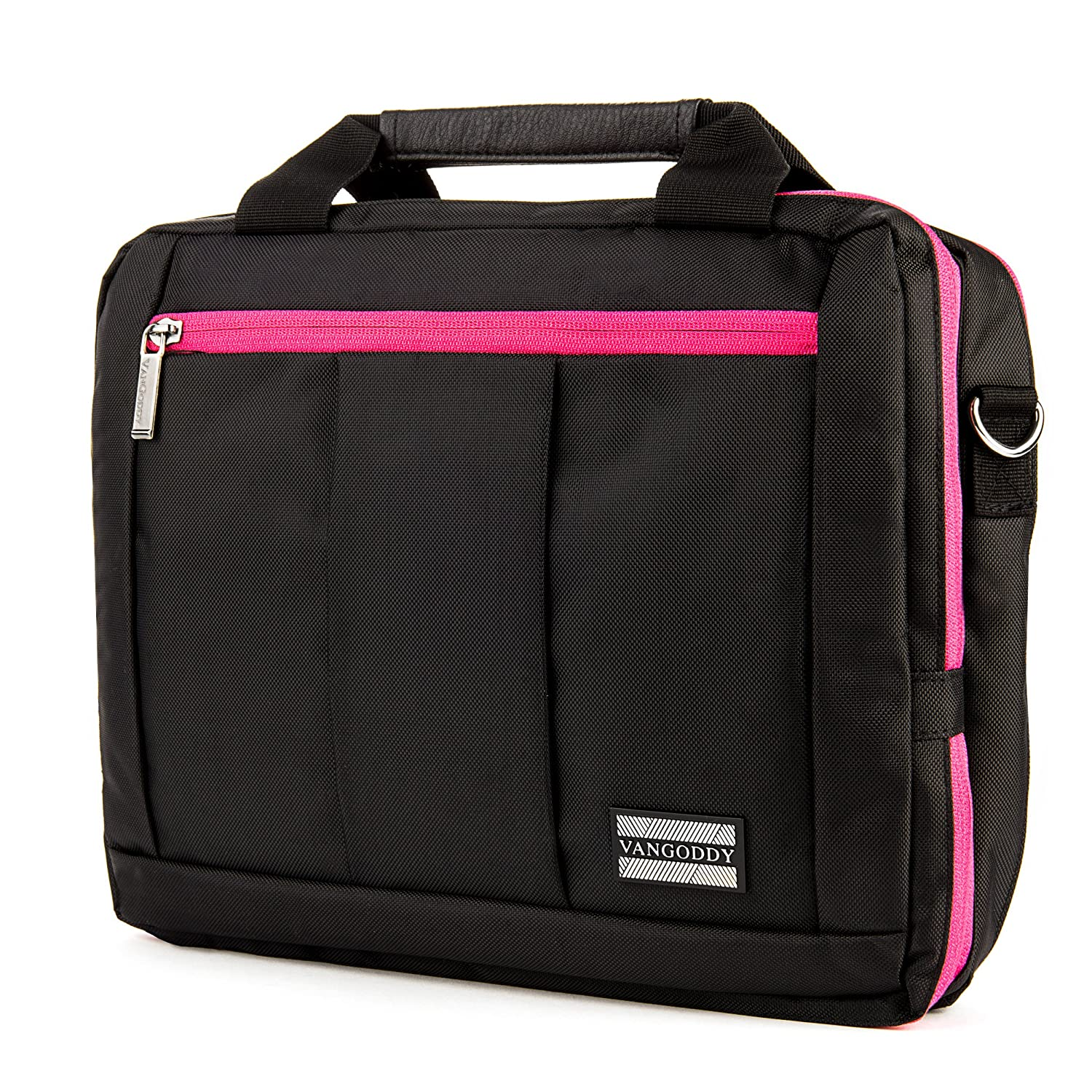 El Prado Collection 3 in 1 Backpack and Messenger Bag for Microsoft Surface Pro 4 12.3 Pro 3 12 /& Surface 3 10.8 inch Tablets Pink