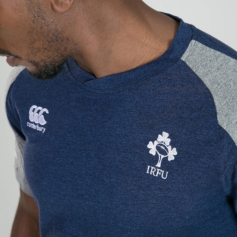 Camiseta Hombre Canterbury Ireland Vapodri Cotton Training