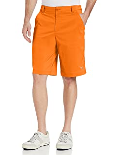 Amazon.com : Puma Golf NA Men's Tech Shorts, Vibrant Orange, 32 ...