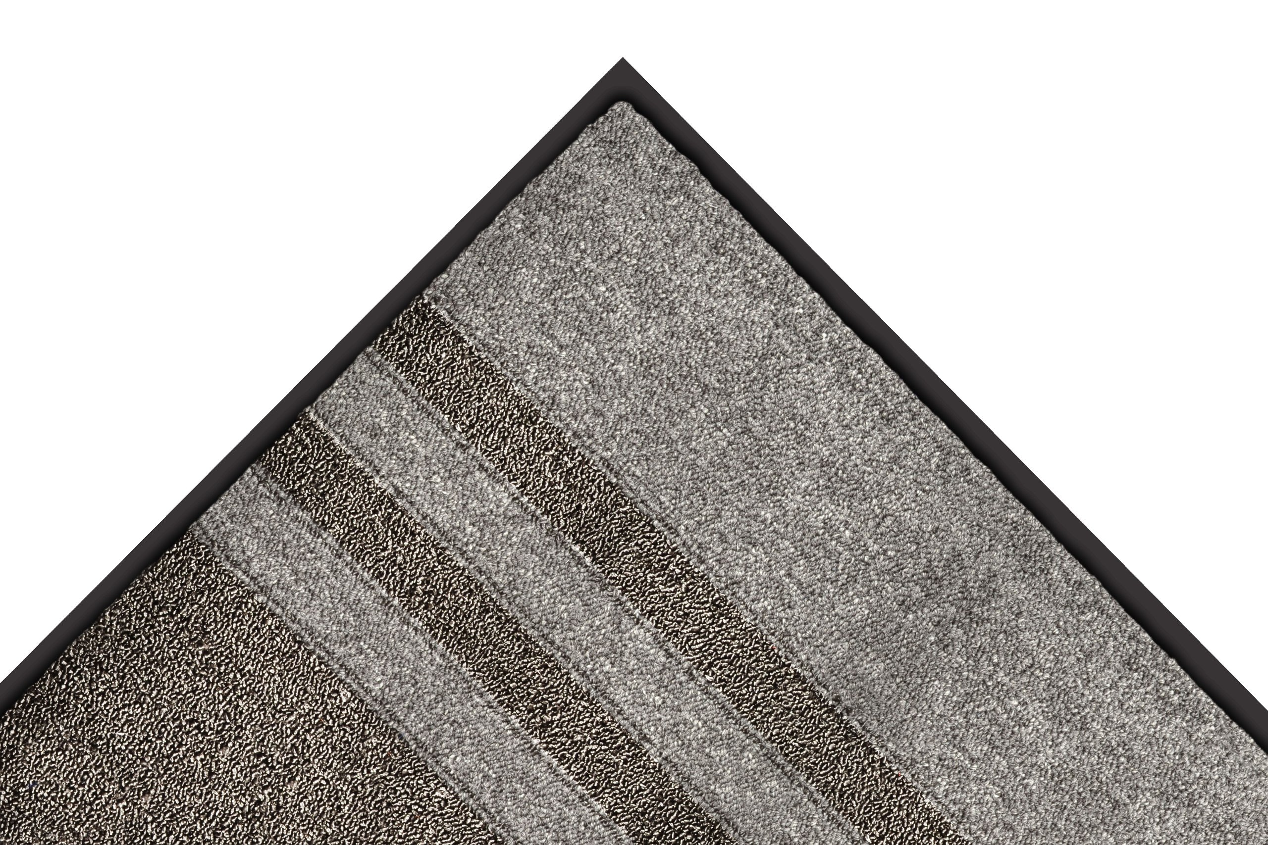 Notrax 137 Opera Entrance Mat, for Upscale Entrances, 3' Width x 10' Length x 3/8'' Thickness, Gray