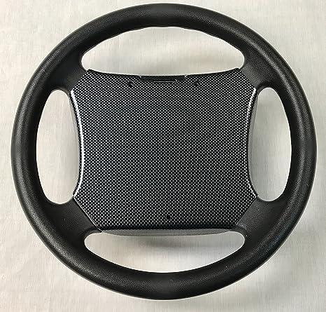 Yamaha - Funda para volante de carrito de golf de fibra de carbono (modelos G14