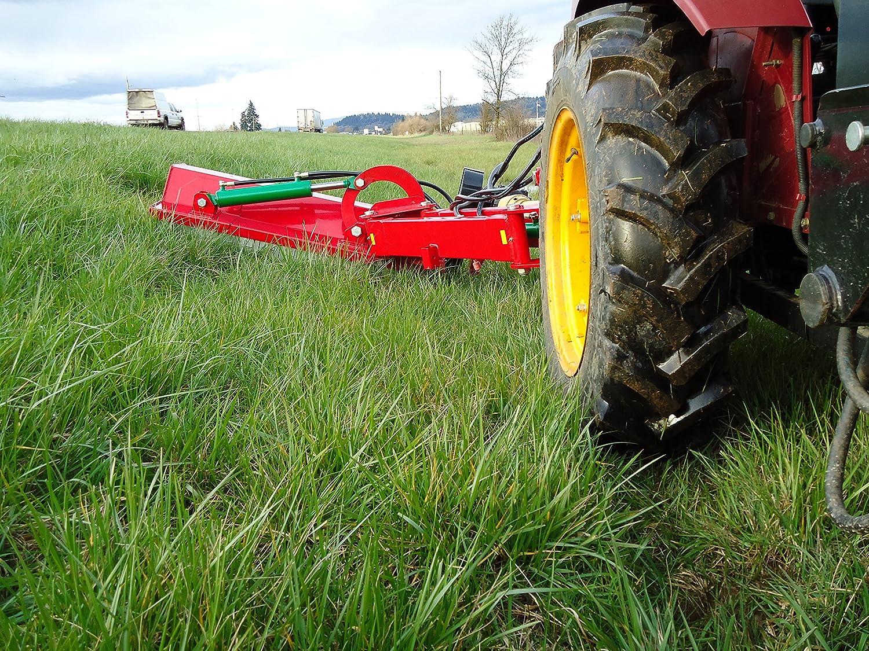 w/Hammer Blades Farmer Helper 63 Ditch Bank Flail Mower Cat II 3pt