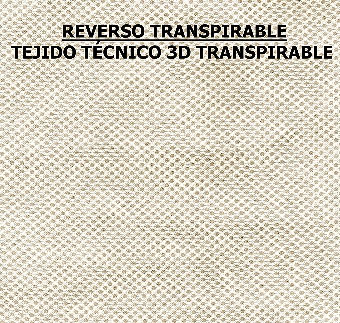 Colchoneta Ligera Silla Paseo Universal Transpirable - Color NEGRO ...