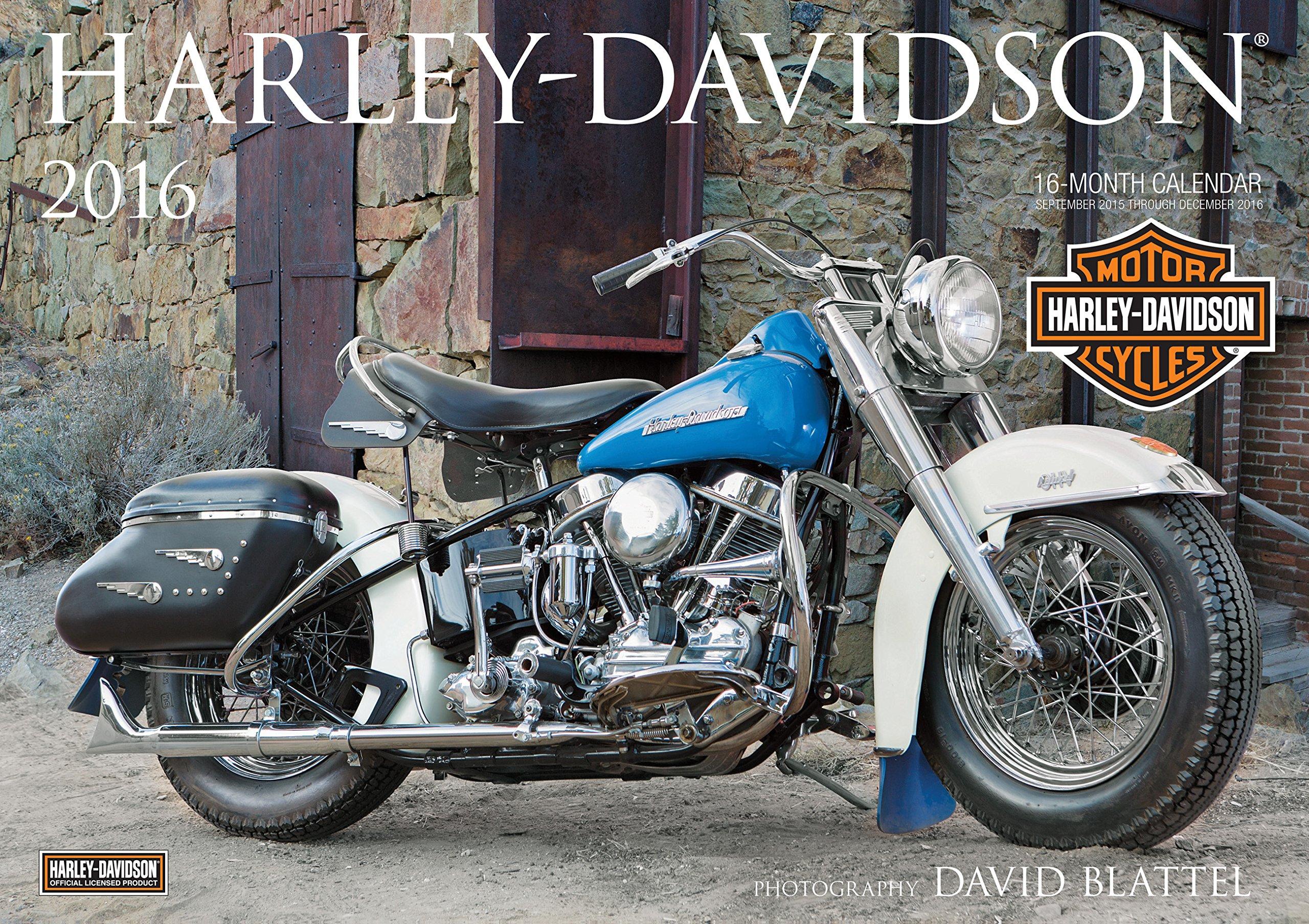 Harley-Davidson(R) 2016: 16-Month Calendar September 2015 through December 2016 pdf epub