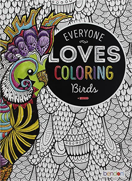 - Amazon.com: Bendon 29146 Birds Advanced Coloring Book: Bendon Publishing:  Toys & Games