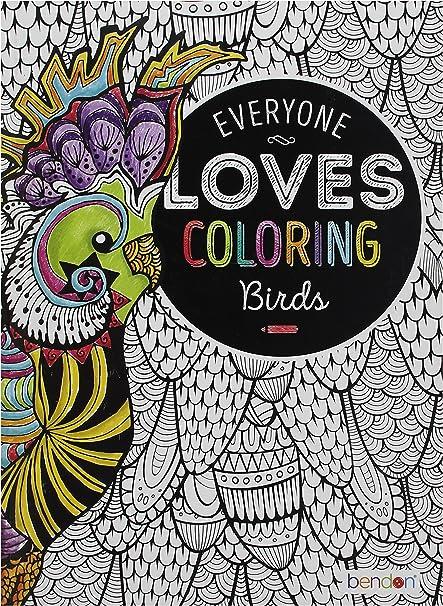 - Amazon.com: Bendon 29146 Birds Advanced Coloring Book: Bendon Publishing:  Toys & Games