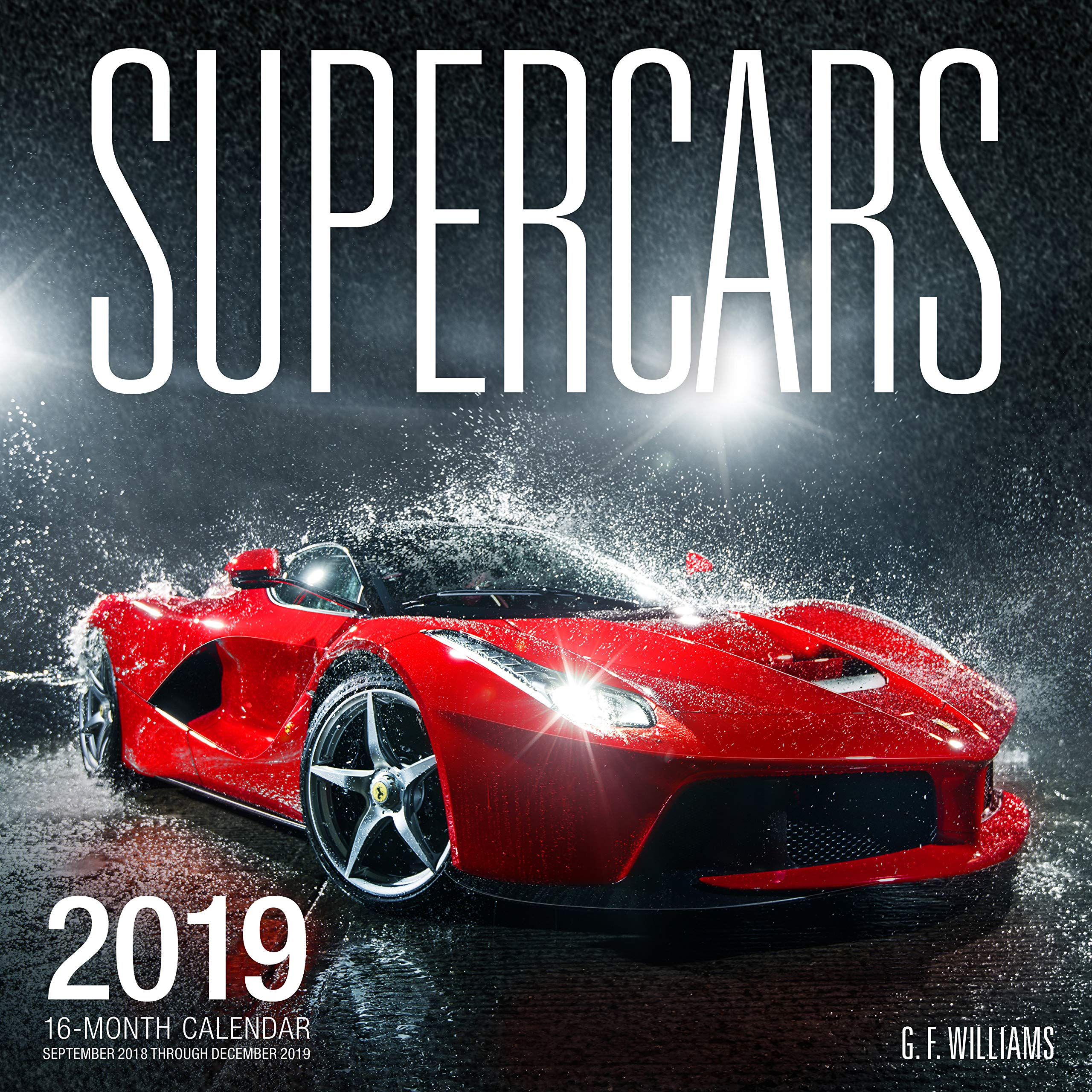 Calendar For 2019-16 Supercars 2019: 16 Month Calendar September 2018 Through December