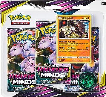 Pokémon POK82570 Pokemon TCG: Sun & Moon 11 Unified Minds Blister ...