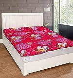 Warmland Floral Polycotton Double Mattress Protector - Multicolour