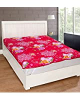 Warmland Floral Polycotton Double Mattress Protector - Multicolour