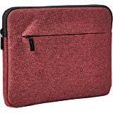 "Amazon Basics Tablet Sleeve with Front Pocket, 10"", Maroon"